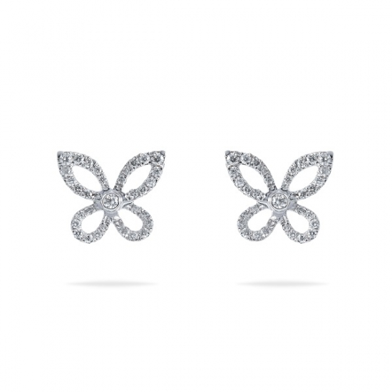 Butterfly Diamond Earring