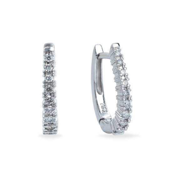 Diamonds Hoops Earrings