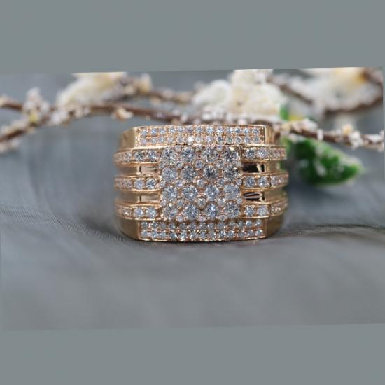 Imperial Men's Diamond Ring
