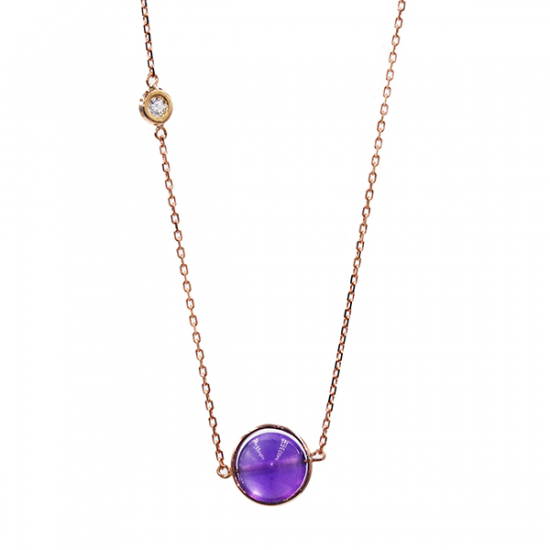 Style with Amethyst Necklace