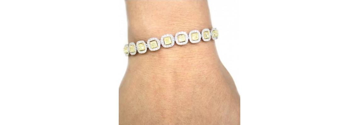 Buy Different Types Of Diamond Bracelets In Dubai
