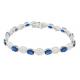 BLUE SONIC DIAMOND BRACELET-B12587