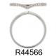 18K White Gold 0.12ct Round Diamond Ring