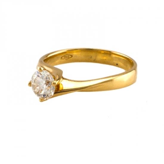 Swirl Engagement Rings-b08499