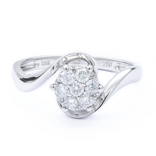Sparkle in style diamond ring
