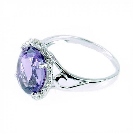 Alluring Amethyst Ring
