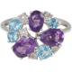 Shades Of Gems Ring