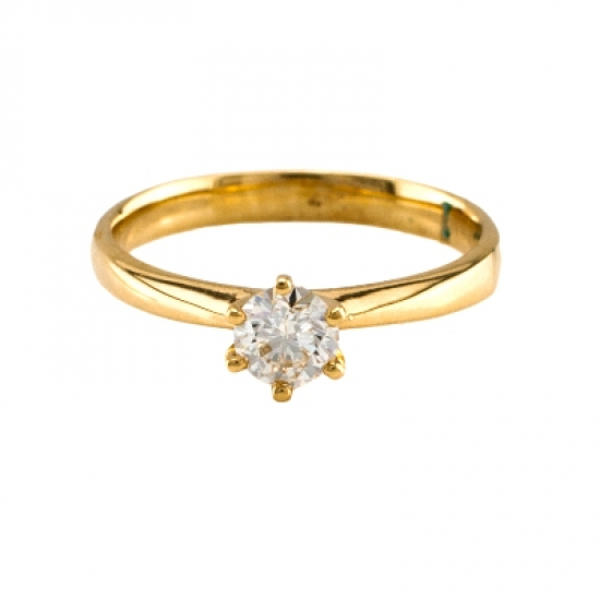 Engagement (Round) Diamond Ring
