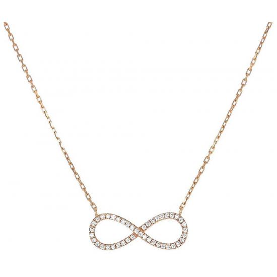 Infinite companion Diamond neckace
