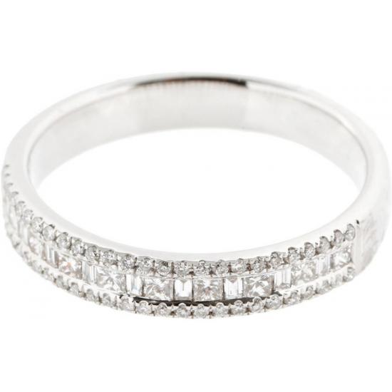 Diamond Triangle Wedding & Anniversary Ring