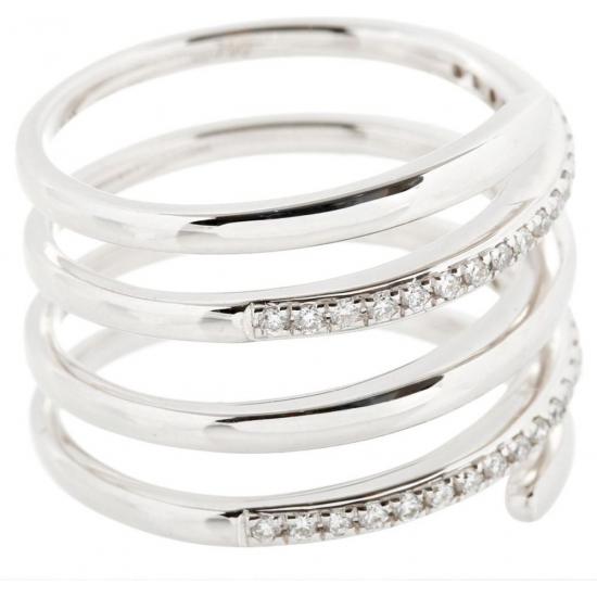 Love Circle Diamond ring