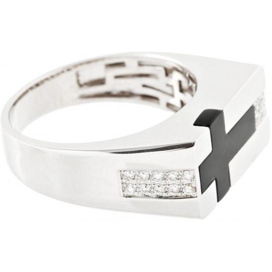 Mens Cross Ring