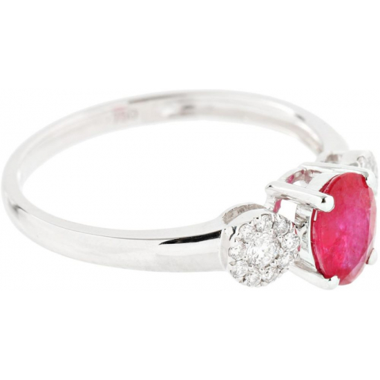 Perfection Ruby diamond Ring