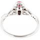 Infinite Ruby Diamond Ring