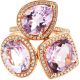 Victoria Townsend Pink Amethyst Ring - B13713