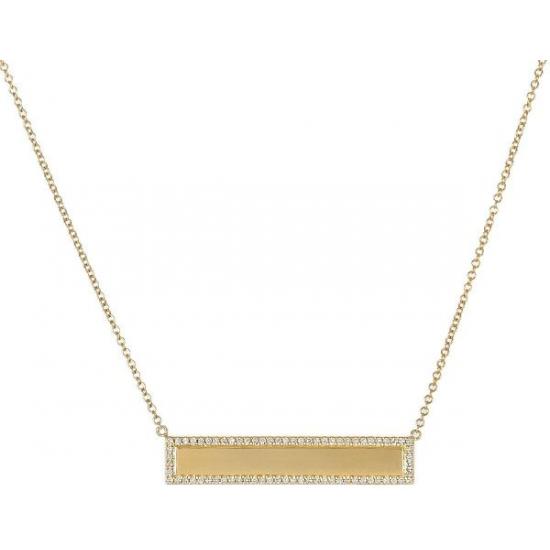 Evoke diamond necklace
