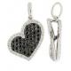 Napoleon Heart diamond pendant