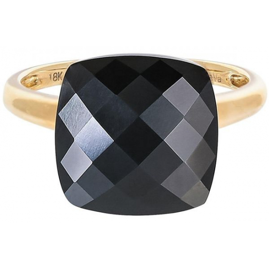 Black Agate Phoenix Ring