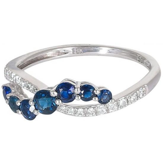 Blue Lagoon diamond ring
