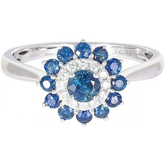 Hallo Sapphire ring