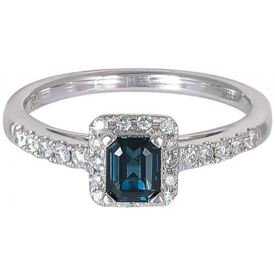 Blue Liza sapphire Ring