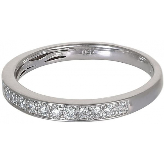 Pave setting Wedding Band -B14691