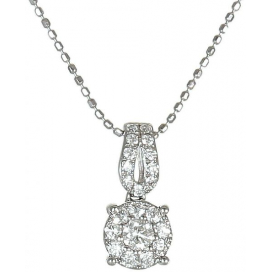 Angels Glimps diamond pendant