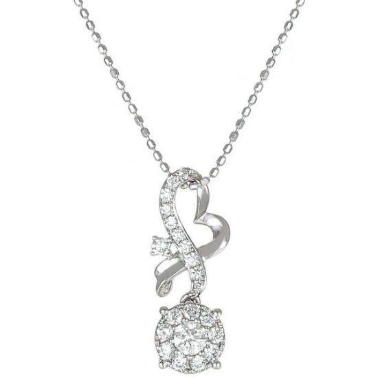 Angel's Heart diamond pendant