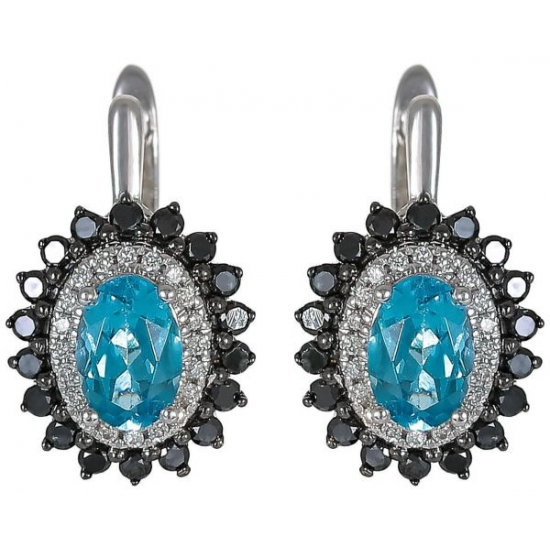 FLAWLESS COLORS DIAMOND EARINGS