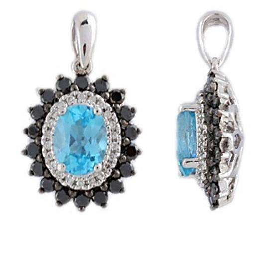 Flawless Colors diamond pendant