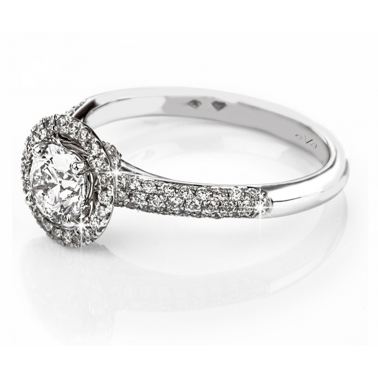 Hallo Engagement Ring B15230