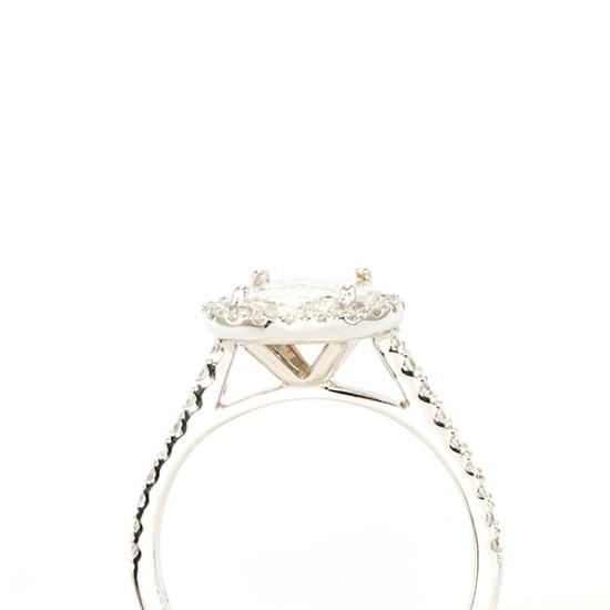 Halo Diamond Ring - B15541
