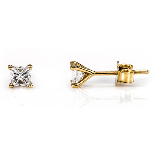 Classic Solitaire Earring,