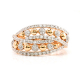 Rose Gold Diamond Ring – B16235