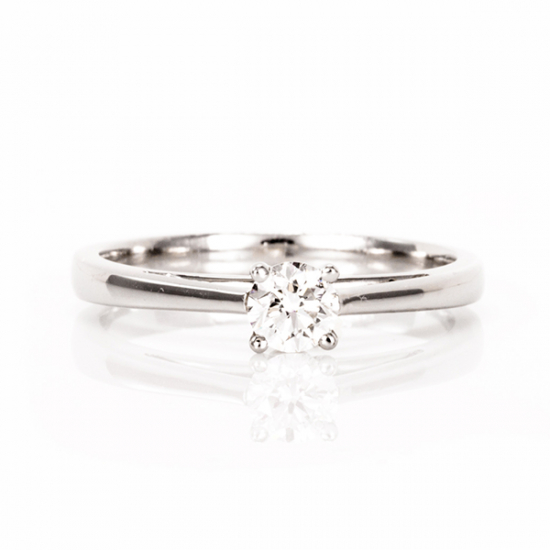 0.36 carat solitaire Diamond Ring – B17145