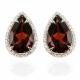 Garnet Earrings - B17387