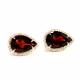 Garnet Earrings - B17387