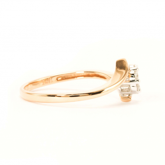 Twisted Flower Ring - B17552