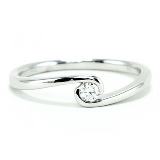 Single Diamond Ring - B17755