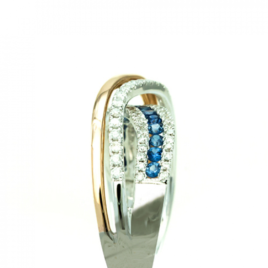 Floral Diamond Ring - B17846