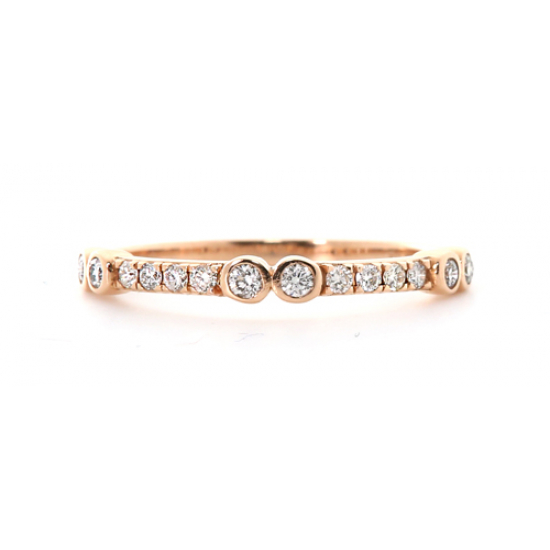 Classic Understated Sparkling Ring