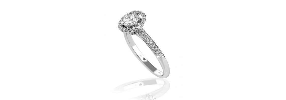 A Brief Discussion about Halo Engagement Ring