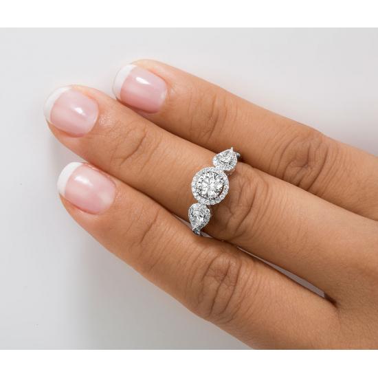 Astonished Engagement Diamond Ring CSC019