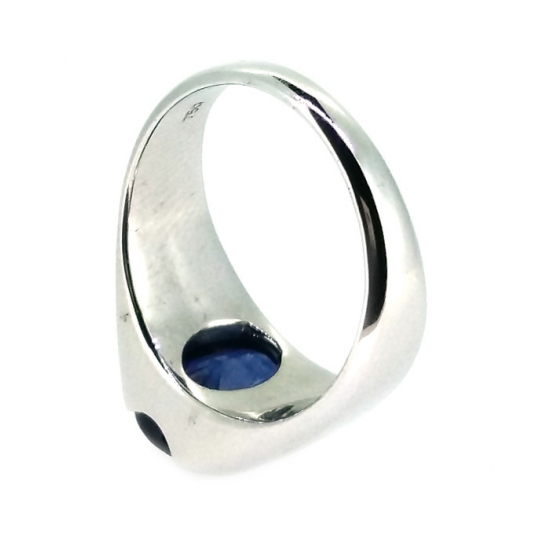 Astrological Sapphire Men's Ring-OR1196