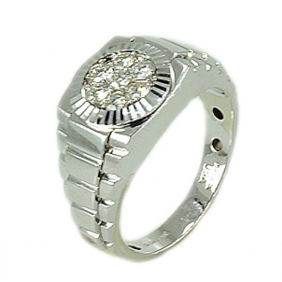 ROLEX WHITE MEN RING-B10240