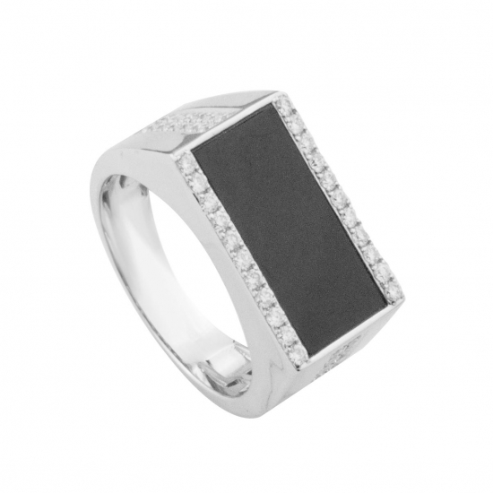 Agate Men's Ring-B12308