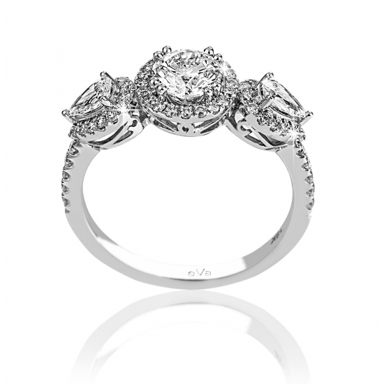 Astonished Engagement Diamond Ring CSC019