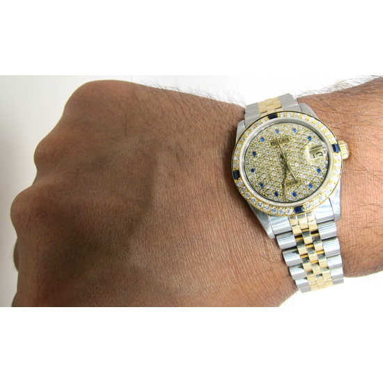 ROLEX DATE-JUST BOY SIZE