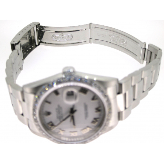ROLEX OYSTER PERPETUAL DATE JUST (MODEL-16200)
