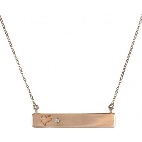 love 'n' name necklace